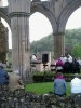 4 June 2015 Rievaulx. Dedication of the new altar