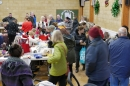 Busy with vistiors at the Christmas Fair