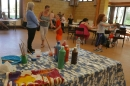 Painting and crafts at Messy Church