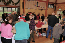 A busy Christmas Fair Saturday
