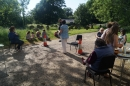 First@4/Messy Church - June Picnic in the churchyard.