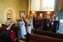 Sea Sunday (10th July 2016) was celebrated at Limpenhoe with Evening Prayer with Hymns, followed by a tot of rum and 'sea biscuits'!