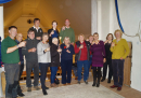 Ringing Remembers - some of the Ringers celebrate