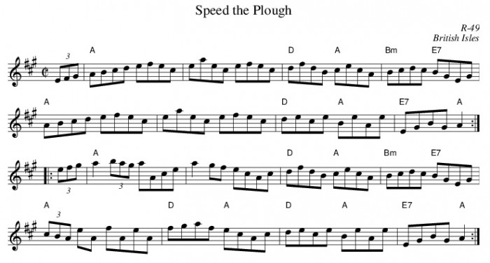 The Folk Tune - Speed The Plough