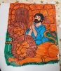 Danial & the Lion Colouring page