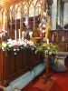 Advent Wreath and choir stall displays
