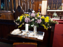 Floral display - Left Choir stalls