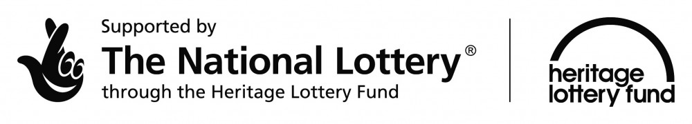 Supported by the Heritage Lottery Fund logo