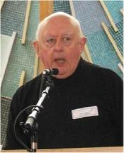 Father Ken Leech, speaking.   Died September 2015