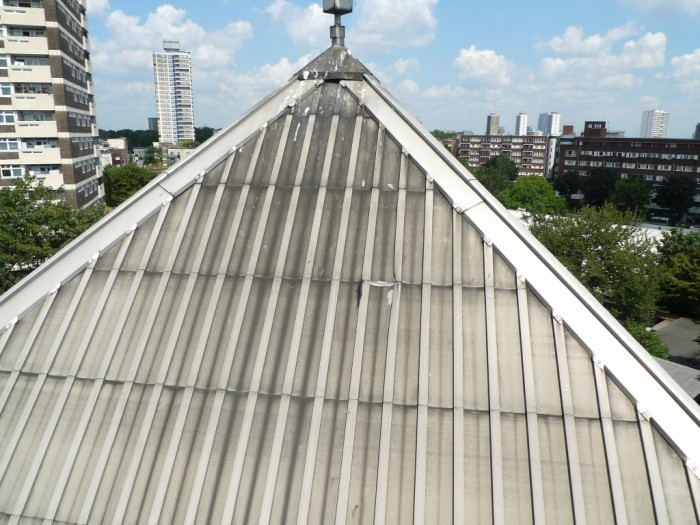 Repair to the Lantern Roof