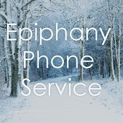 Open Sunday worship by phone