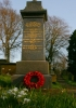 Memorial to the fallen of WWI and WWII at Fewston Church