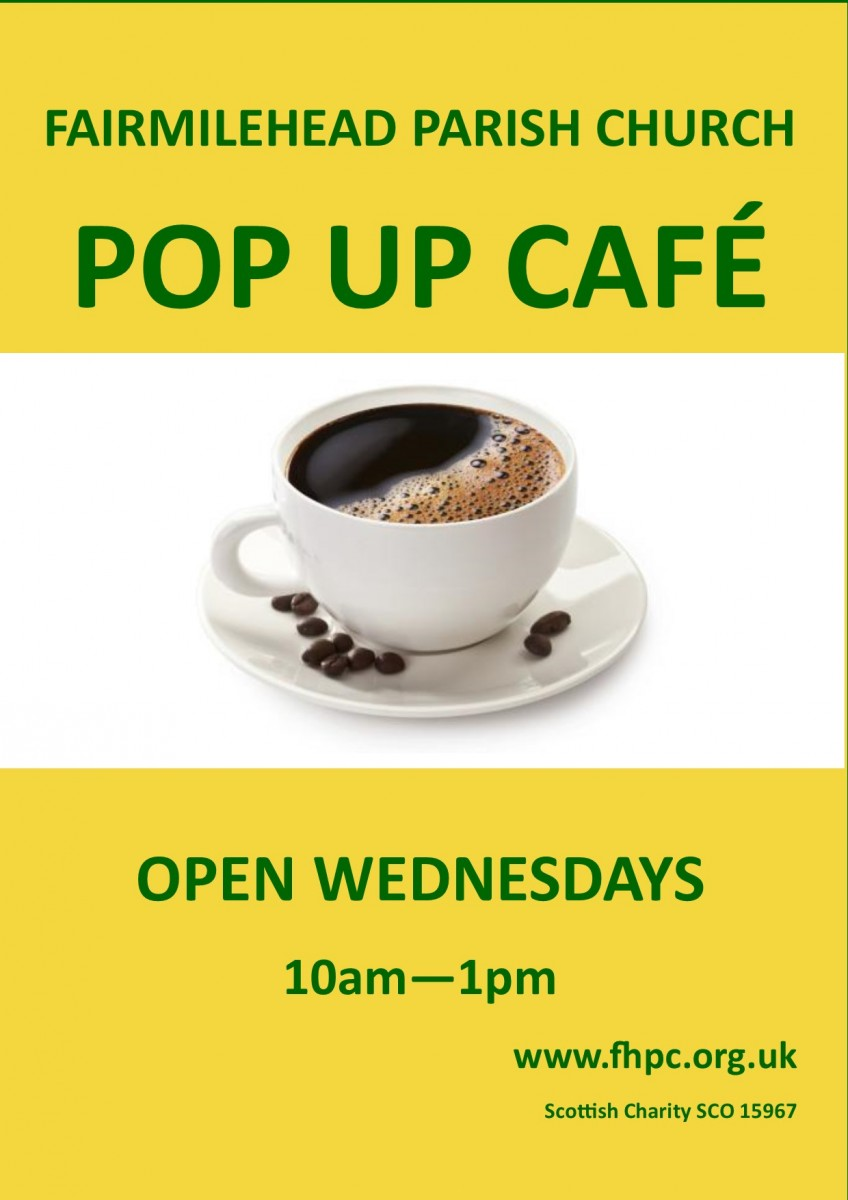 Pop Up Cafe poster