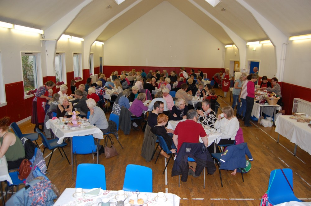 Forum charity afternoon tea in Buckstone