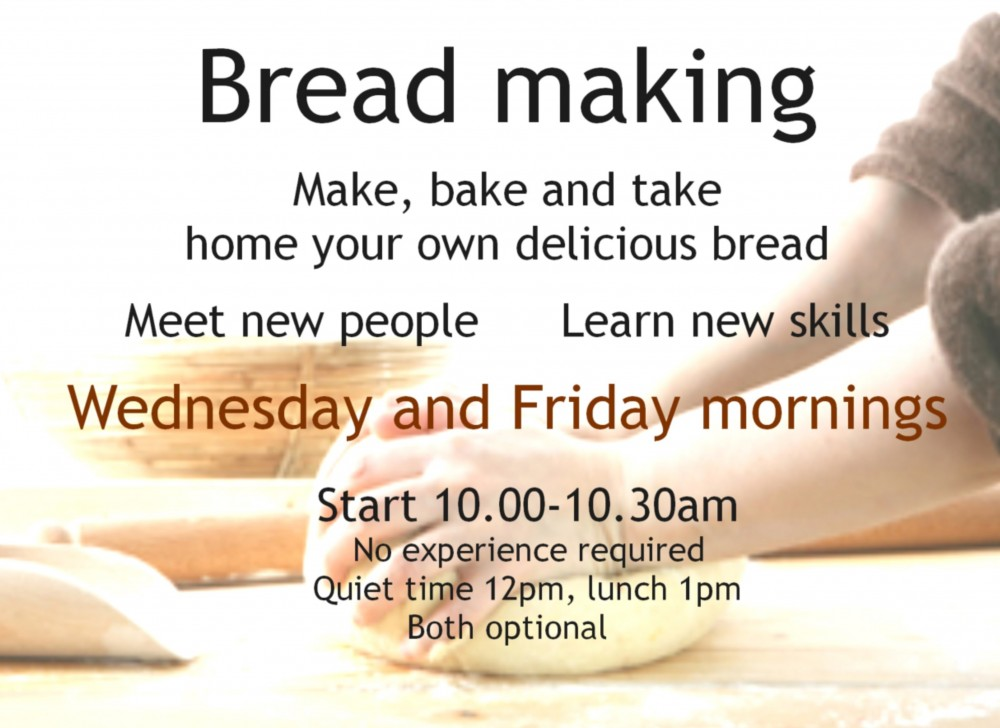 Bread making advert