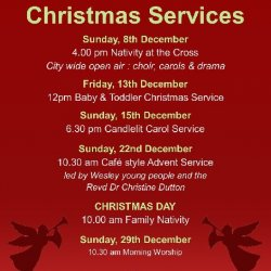 Open Christmas Services