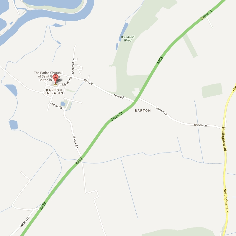 External link: To Google Map of St George, Barton-in-Fabis