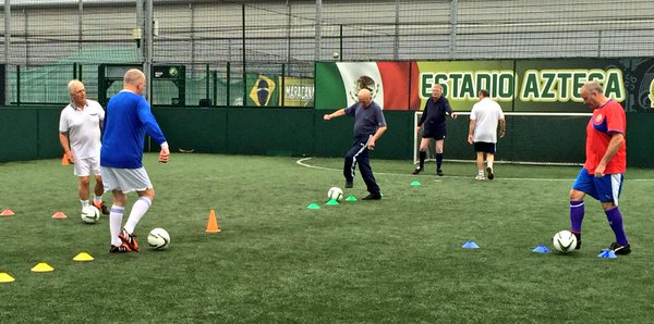Walking Football Skills Session