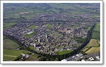 Aerial view of Blacon