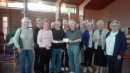 Blacon Butterflies Present a Cheque to Vintage Blacon