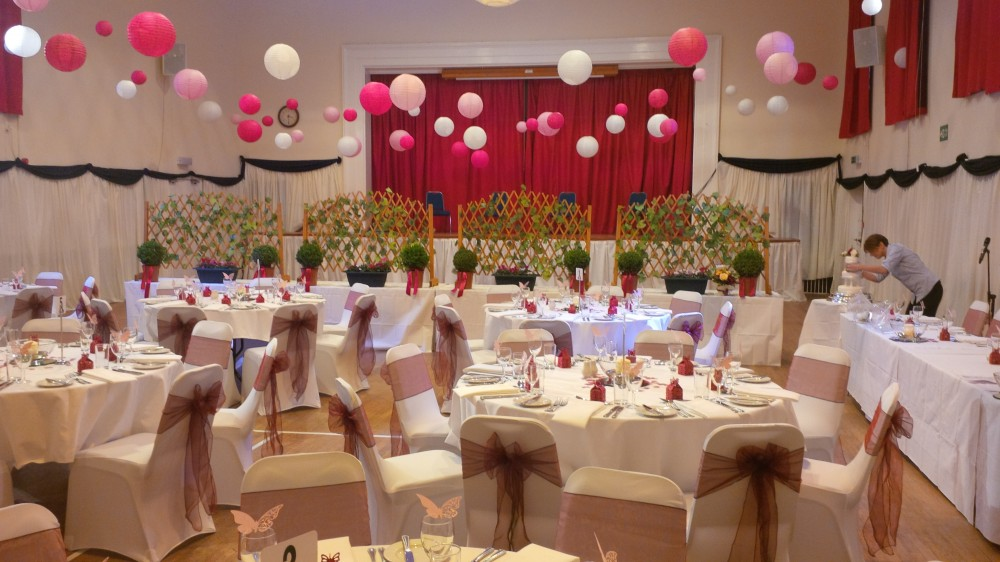 Cramond Kirk Wedding Reception Examples