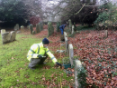 Click here to view the 'Churchyard survey in Coberley' album
