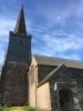 St Mary's North Huish in May evening sunshine