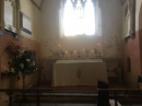 The altar ready for Rogation
