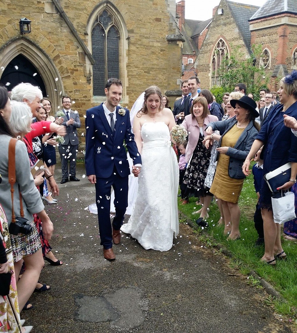 Wedding at St Giles