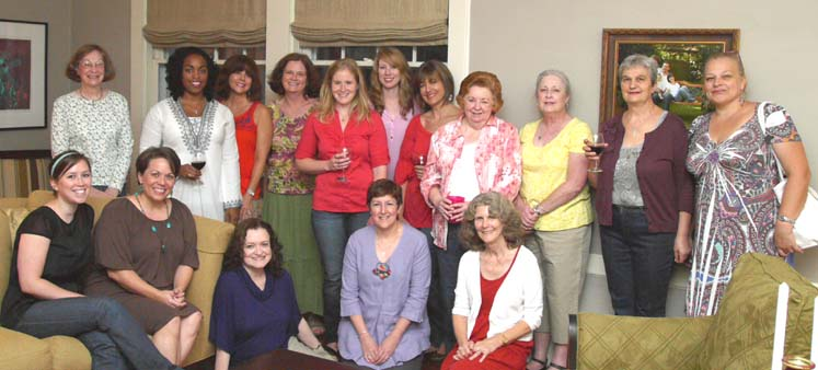 Women at womens ministry