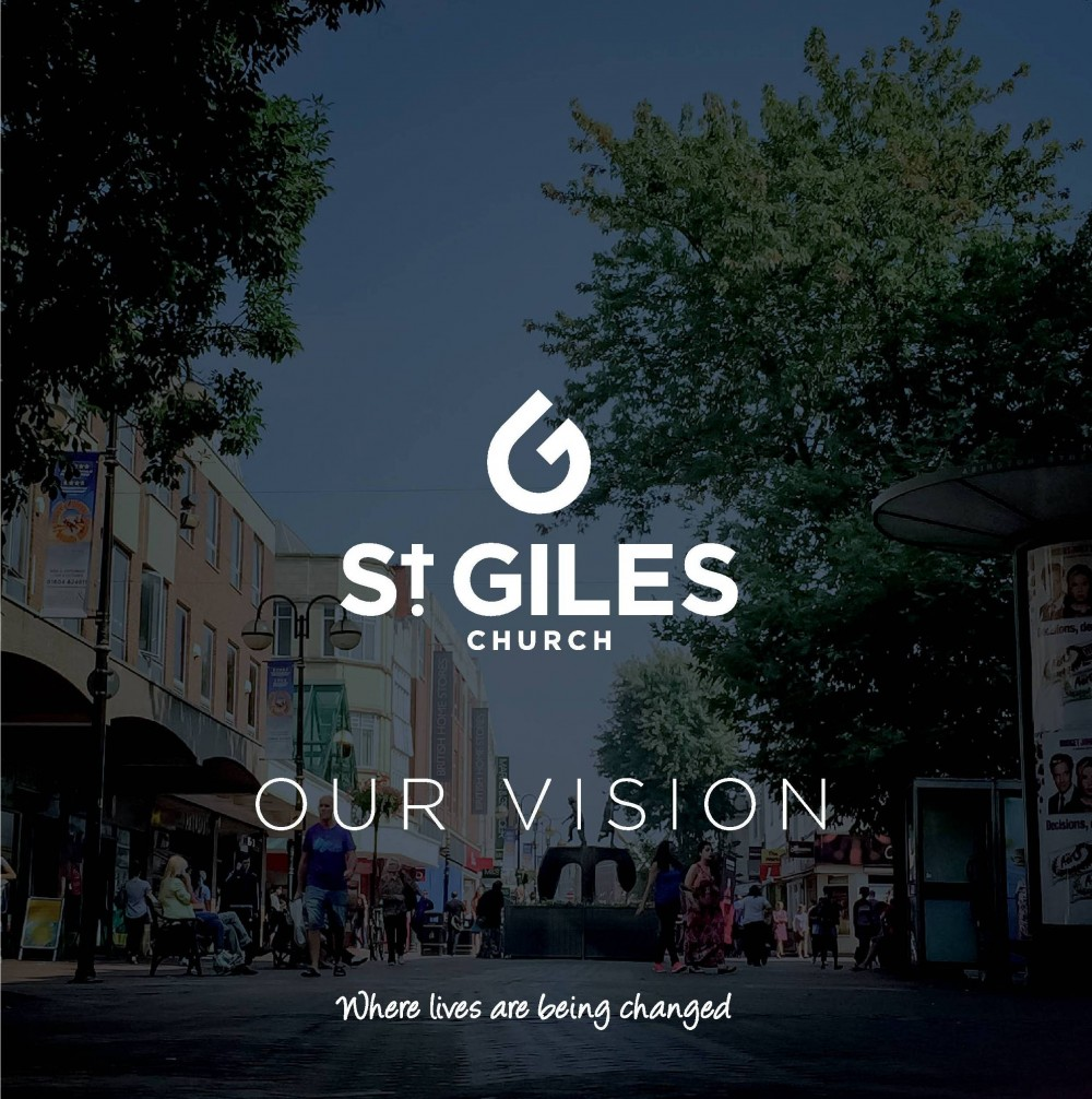 Front page of the St Giles 2016 Vision Document