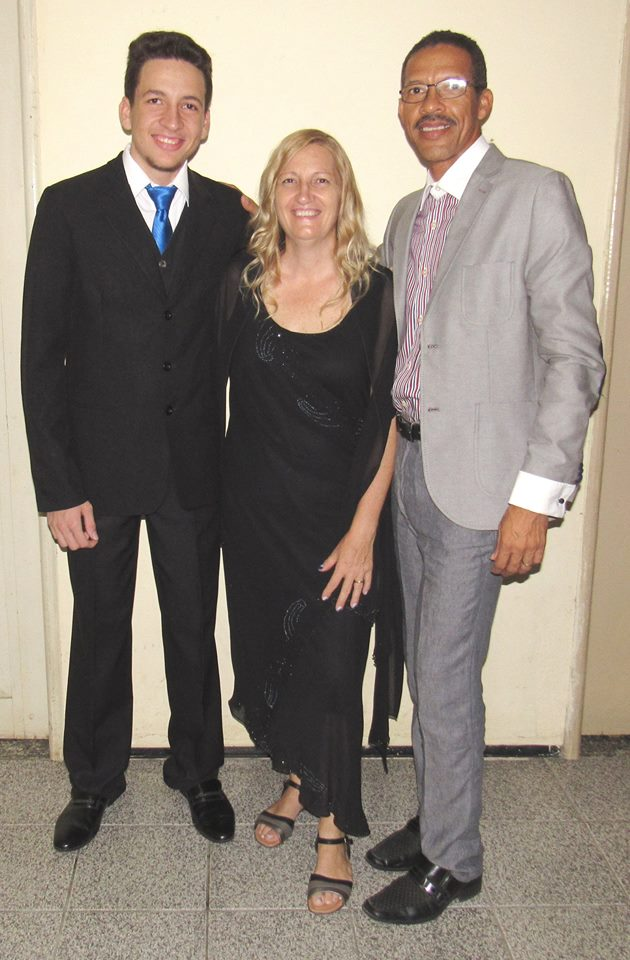 Ruth and Izaias Daniel de Assis with Jonathan