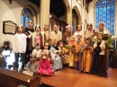 The cast of the 2013 Crib Service