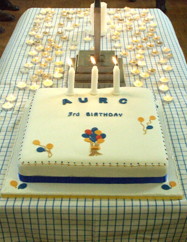Cake Ideas For Church Anniversary : Altrincham United Reformed Church Photos Anniversary Cake