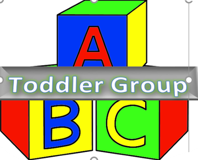 ABC Cube with the word Toddler across cube