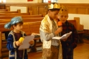 The Magi in rehearsal