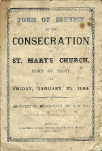 Link to PDF of St Mary's Consecration Service