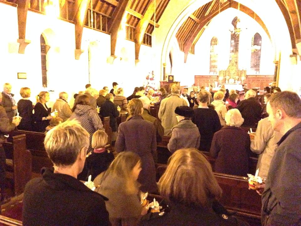 Christingle 2014 at St C's