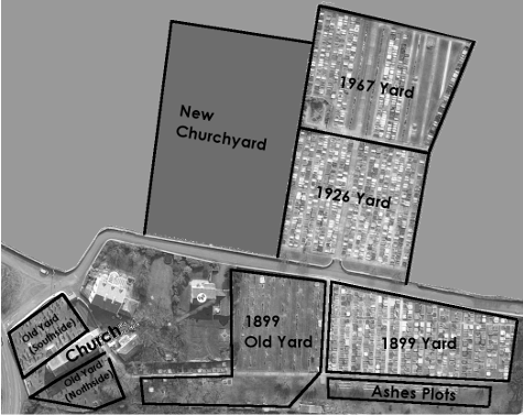 Thumbnail image of Burial Ground layout.