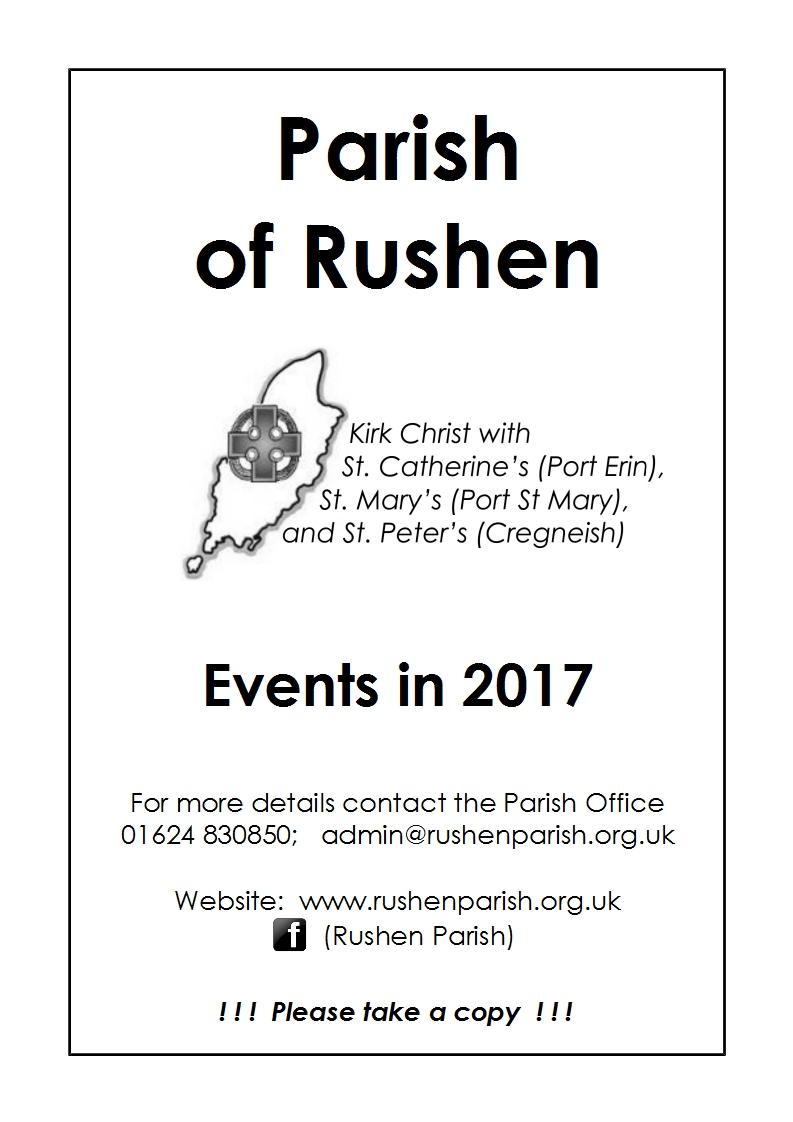 Link to Events Leaflet