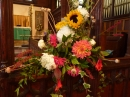 Harvest floral display 2016