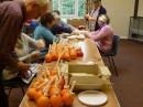 Christingle production line