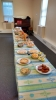 Over Fifty Adults and Children enjoyed the meal