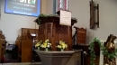 Pulpit at Easter