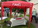 The Pimms was flowing