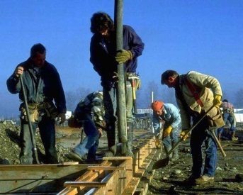 Picture of group of men working
