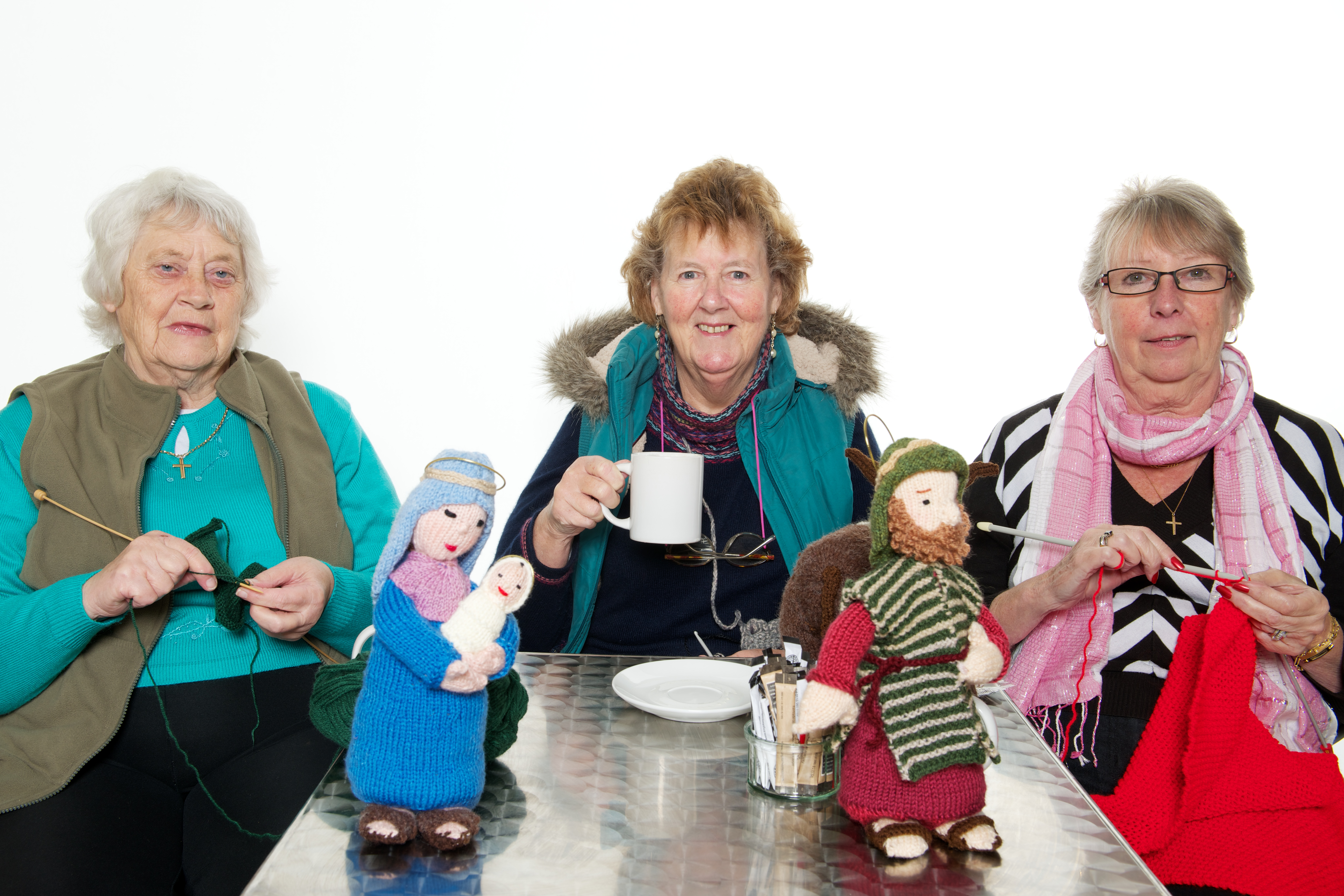 Group Of People Knitting : Wootton new life methodist church knit natter