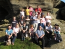 Choir at Brimham Rocks 2012