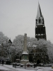 St. Michael's in the snow