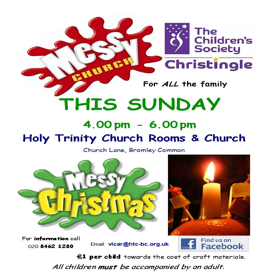 Come and join us as we celebrate the story of Jesus' birth and join together in Church for our annual Christingle Service.